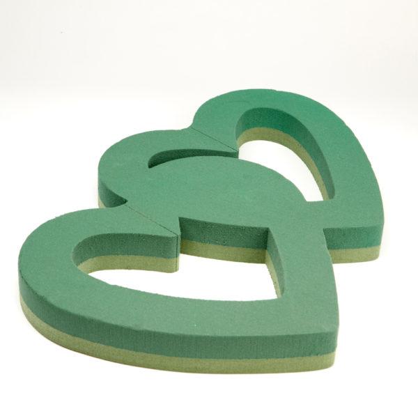 Oasis Foam Frames Floral Foam - Open Double Heart Frame 1