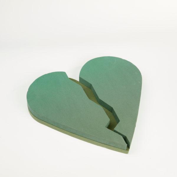 Oasis Foam Frames Floral Foam - Broken Heart 1