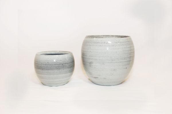 CRESTA Plant Pot - Ice Blue 1