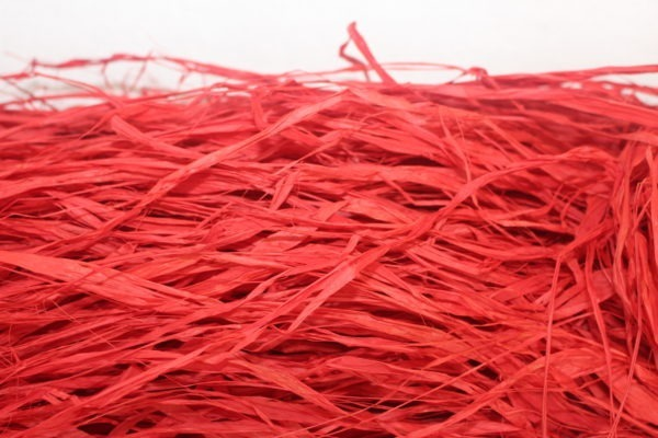 Long Raffia - Red 1