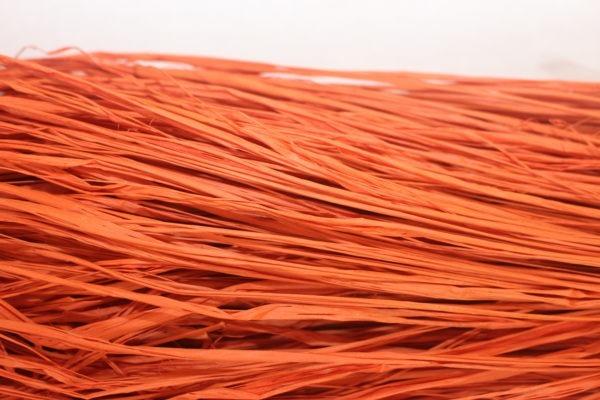 Long Raffia - Orange 1