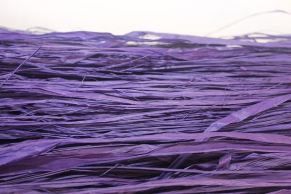 Long Raffia - Dark Purple 1