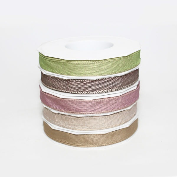 Wired Fabric Ribbon 15mm x 20m 1