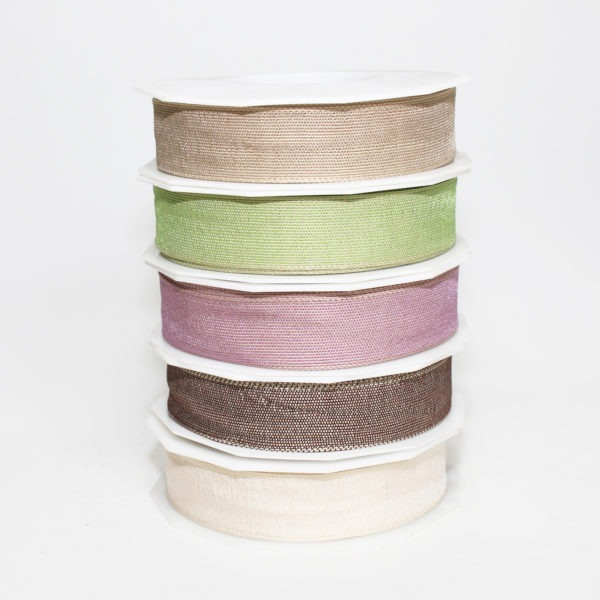 Wired Fabric Ribbon 25mm x 20m 1