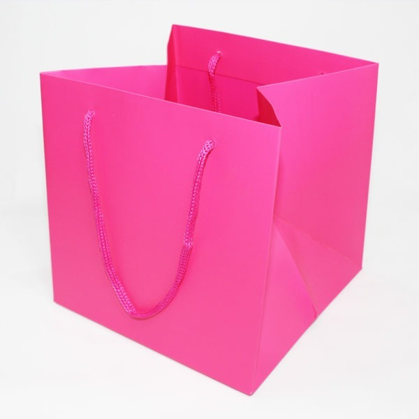 Hand Tie Bag - Cerise 1
