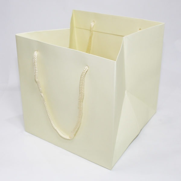 Hand Tie Bag - Ivory 1