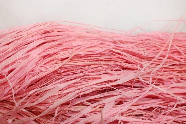 Long Raffia - Light Pink 1