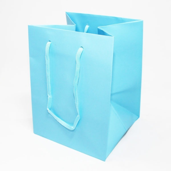Hand Tie Bag - Baby Blue 1