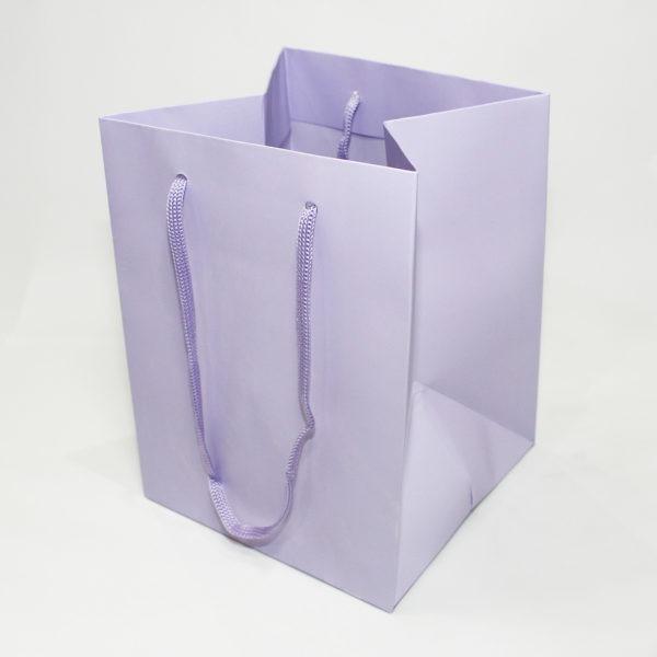 Hand Tie Bag - Lilac 1