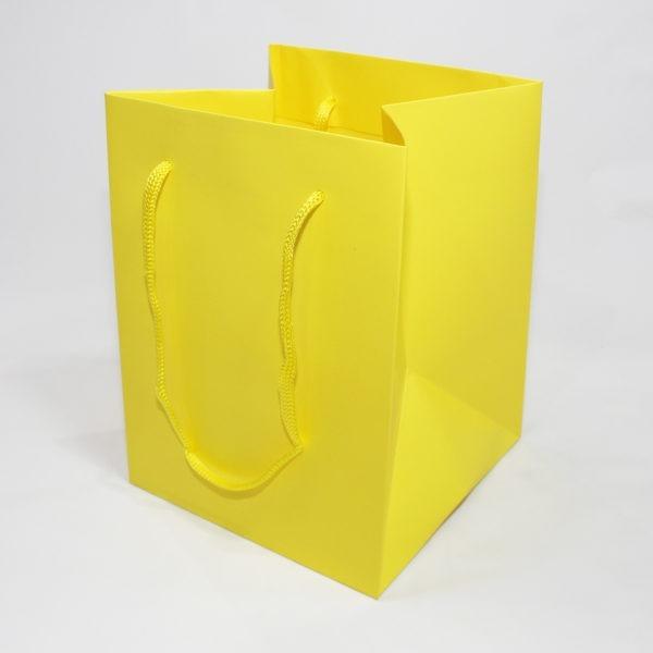 Hand Tie Bag - Yellow 1