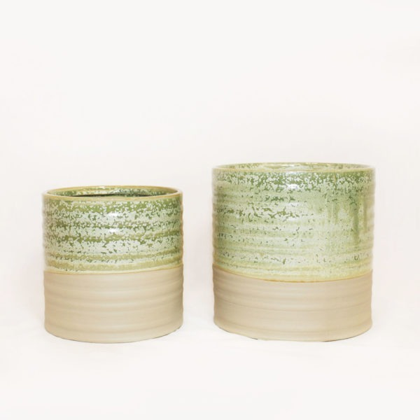 NIKKIE Plant Pot - Ice Green 1
