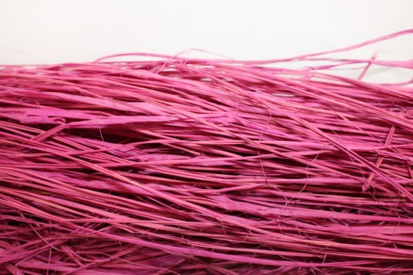 Long Raffia - Hot Pink 1