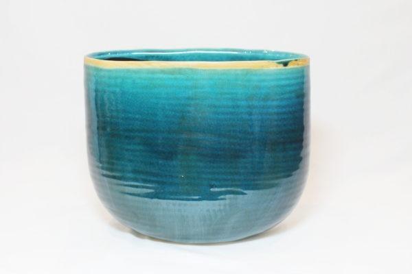 planter iris turquoise 136356 a