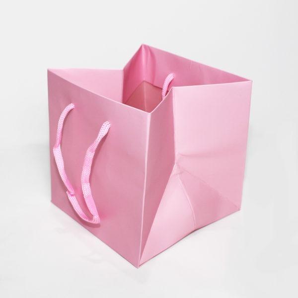 Hand Tie Bag - Baby Pink 1