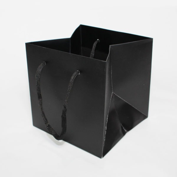 Hand Tie Bag - Black 1