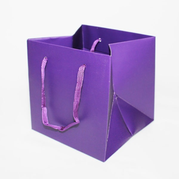 Hand Tie Bag - Purple 1