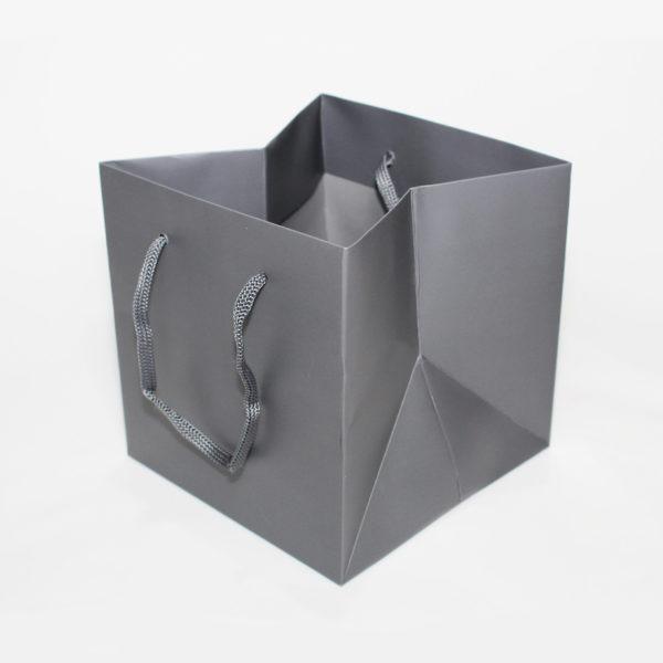 Hand Tie Bag - Slate Grey 1