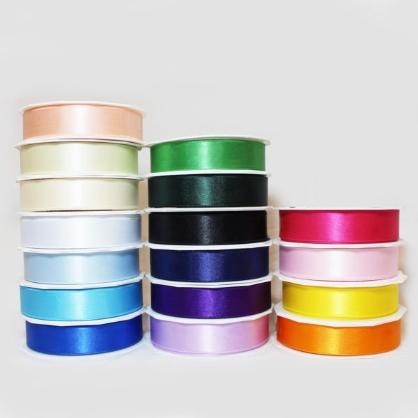 Satin Ribbon 25mm x 25m 1