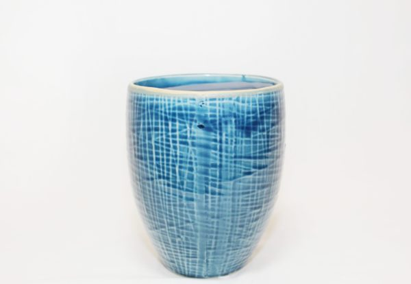 tall pot lotte demin blue 139105 a