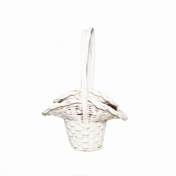 Bridesmaids Basket Trio - White 1