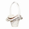 Bridesmaids Basket Trio - White 2