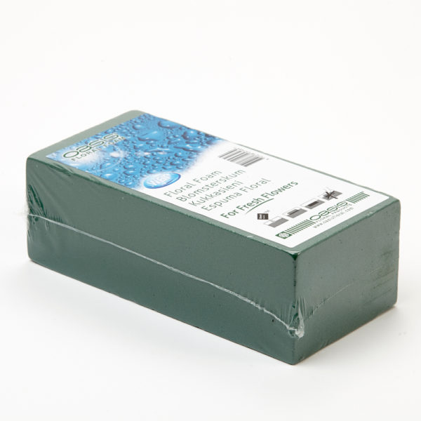 Oasis Ideal Floral Foam Shrink Wrapped Brick 1