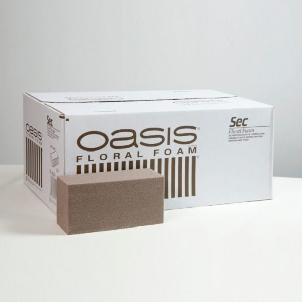 Oasis Sec Dry Floral Foam Brick 1