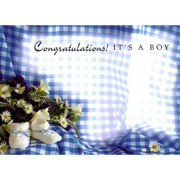 Large Cards - Congratulations! It's A Boy 1