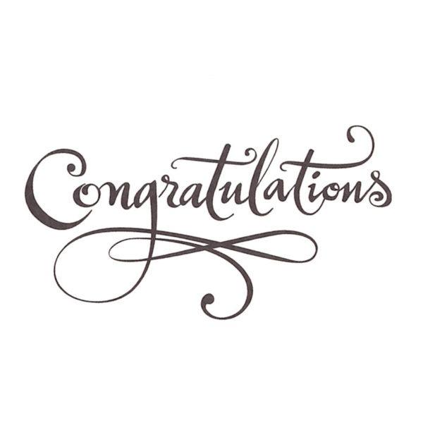 Small Cards - Congratulations - Script 1