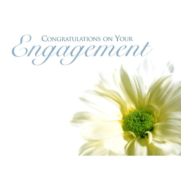 Large Cards - Congratulations On Your Engagement 1