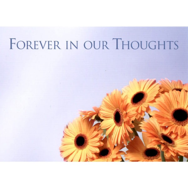 Large Cards - Forever In Our Thoughts 1
