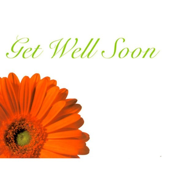 Large Cards - Get Well Soon 1