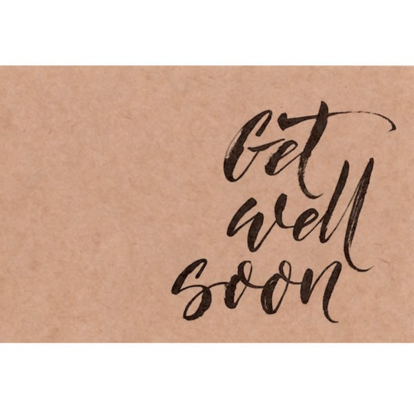 Small Cards - Get Well Soon - Script 1