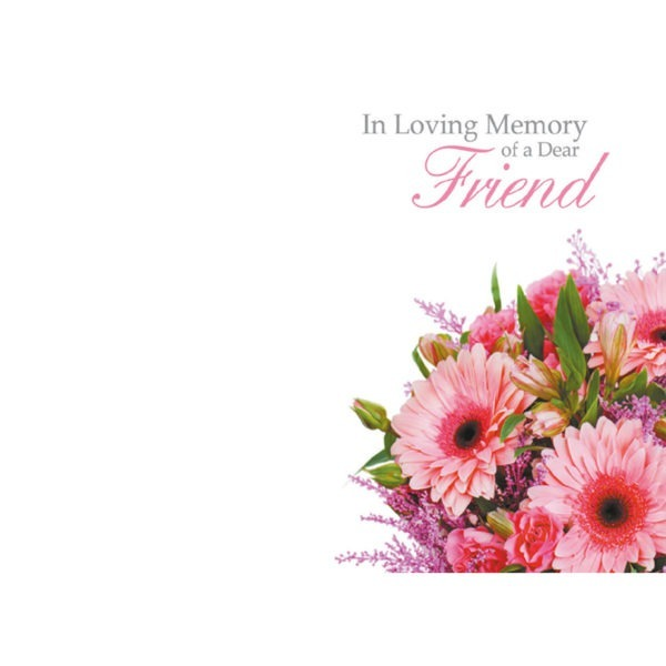 Large Cards - In Loving Memory Of A Dear Friend 1