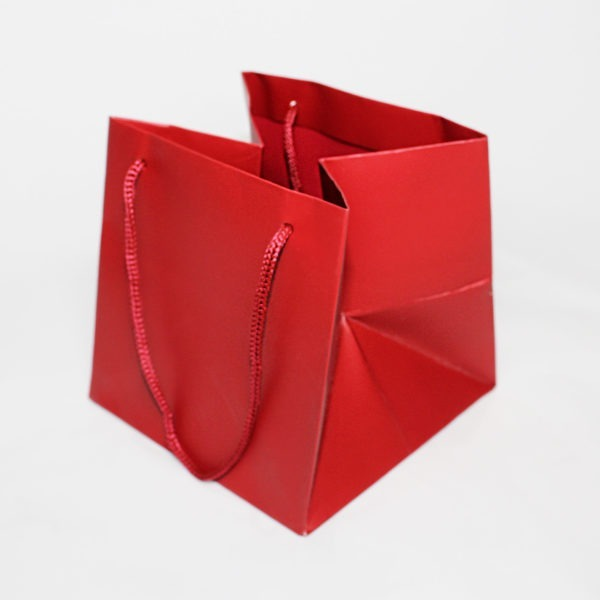 Hand Tie Bag - Red 1