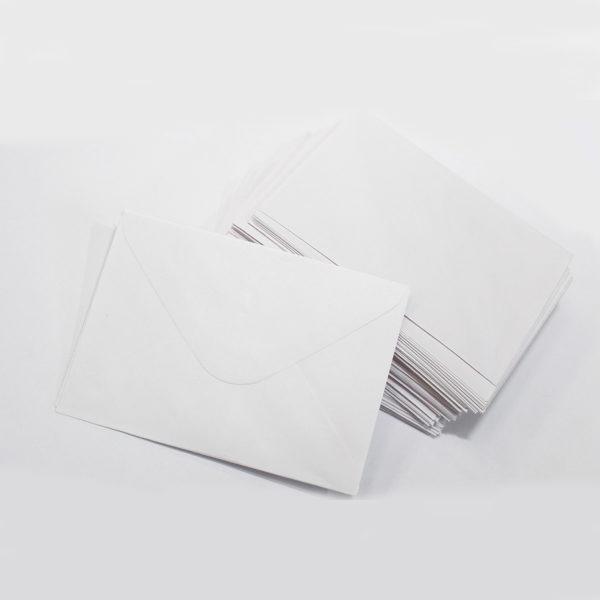 Small White Envelopes 1