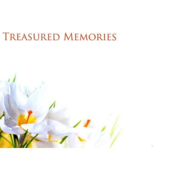 Large Cards - Treasured Memories 1