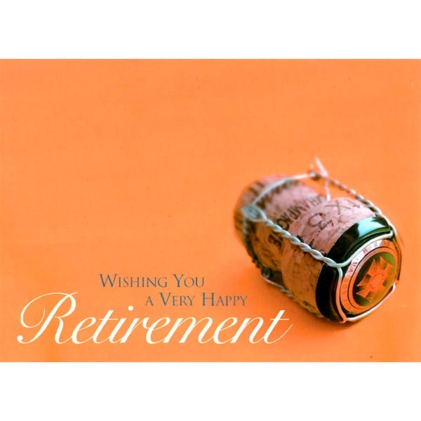 Large Cards - Wishing You A Very Happy Retirement 1