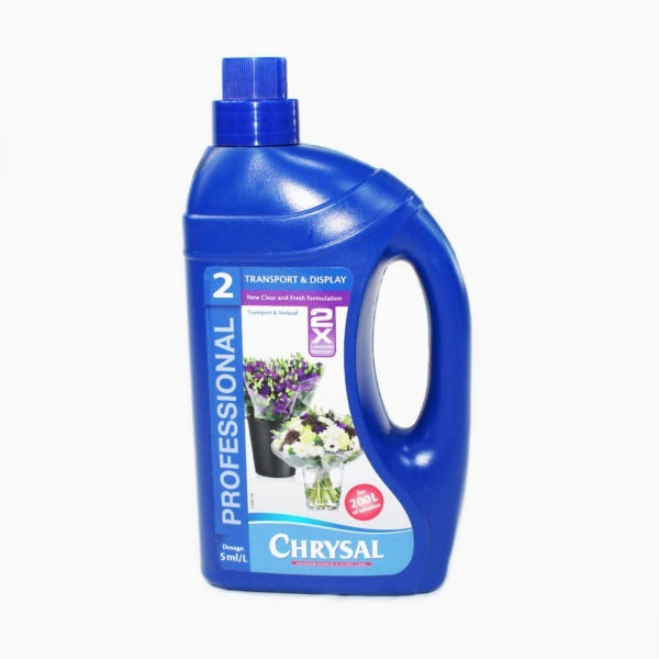 Chrysal Professional 2 Concentrated - Transport and Display Formula - 1L 1