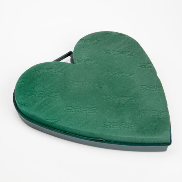 Oasis Plastic Backed Solid Heart 1