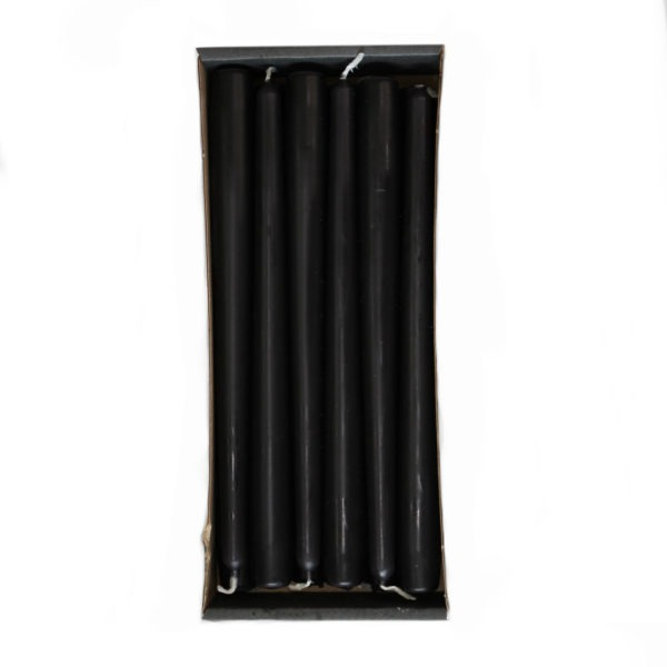 Tapered Candles - Black - 23mm Base 1