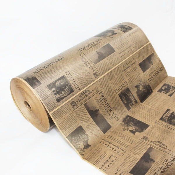 Brown Newsprint Kraft Paper Roll 1
