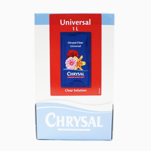Chrysal Clear Universal Powder Sachets - 100 x 1L 1