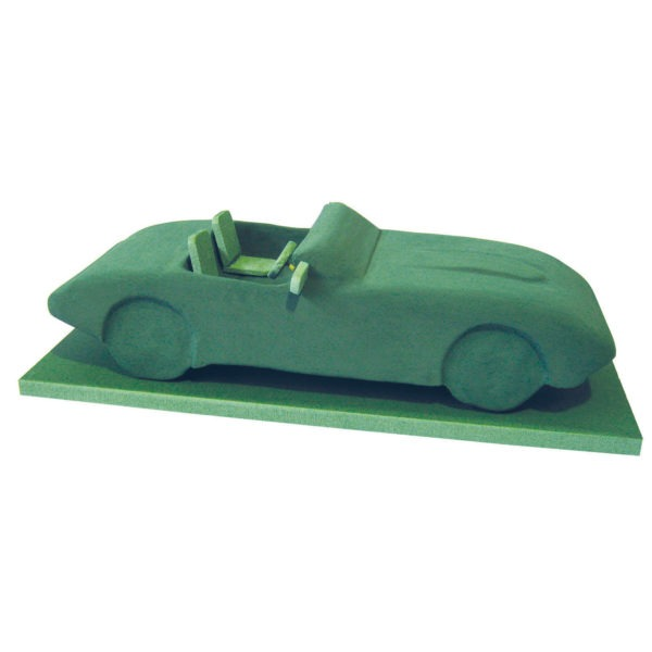 Val Spicer - Floral Foam 3D Shape - Convertible Car 1