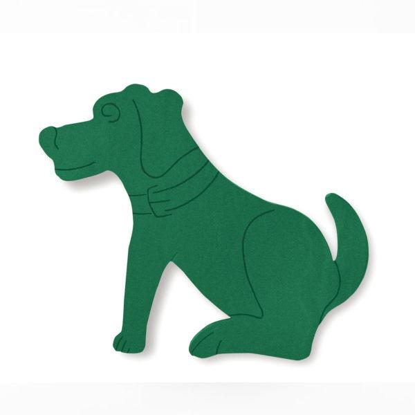 Val Spicer - Floral Foam Designer Shape - Dog 1