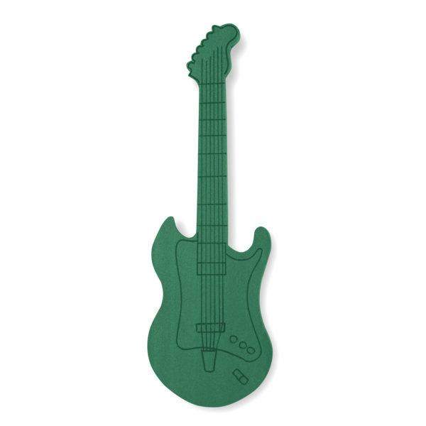 Val Spicer - Floral Foam Designer Shape - Electric Guitar 1
