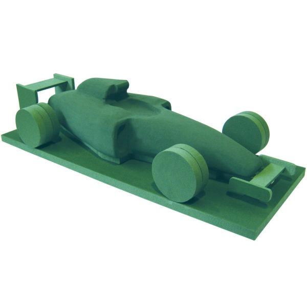 Val Spicer - Floral Foam 3D Shape - F1 Racing Car 1