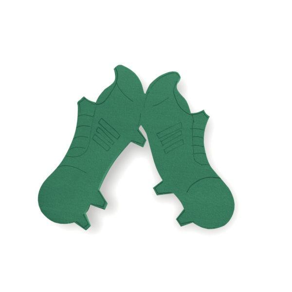 Val Spicer - Floral Foam Designer Shape - Football Boots 1