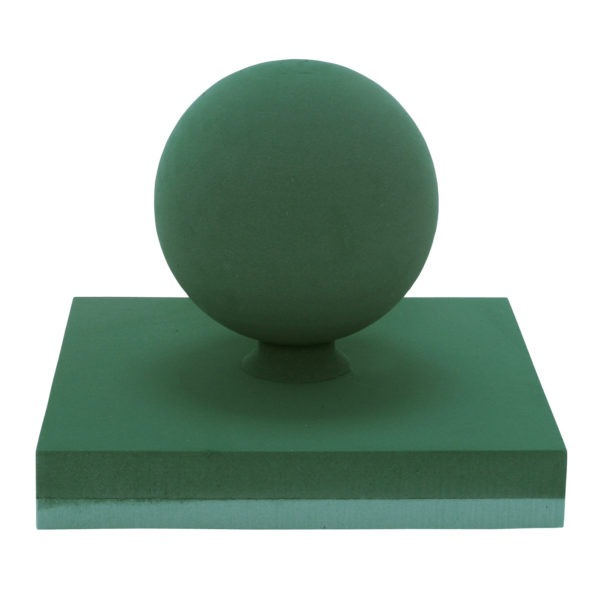 Val Spicer - Floral Foam 3D Shape - Football on Pitch 1