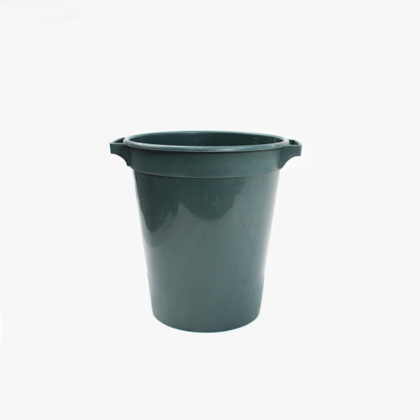 Green Plastic Floral Bucket 1